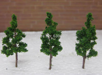 Wholesale D3813 Scale Train Layout Set Model Trees HO mm