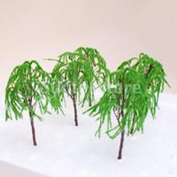 Wholesale Model Weeping Willow Tree Train Set Scenery Landscape OO O