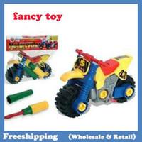 Wholesale Educational toys intelligence disassembling motorcycle freeshipping