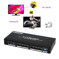 Wholesale HDM E HDMI Matrix x2 Switch Splitter Inputs Outputs Support Kx2K D with EDID Control HDMI Switch V830