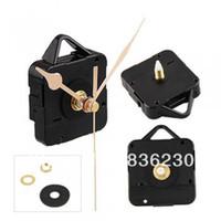 Wholesale Quartz Clock Movement Mechanism Gold Hands DIY Repair Parts Kit