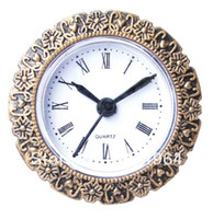 Wholesale Insert clock clock head mm B clock parts gold border Roma number decorative border