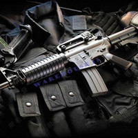 Wholesale paper model cs1 Firearms Assault rifles M4 a1 d paper toy handmake toy diy Weapon toycreative gifts