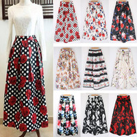 Where to Buy Floral Print Casual Long Skirt Online? Where Can I ...
