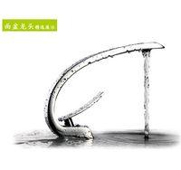 Cheap Wholesale-new 2014 modern Bathroom Faucet Basin tap brass Chrome Vessel Basin Mixer Tap Vanity Faucets Brass Tap Sink Faucet Item F6101-1