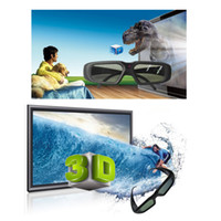 Wholesale 3D Active Shutter Glasses for Bluetooth D TV Projector SG08 BT Bluetooth Rechargeable D video TV Glasses V843