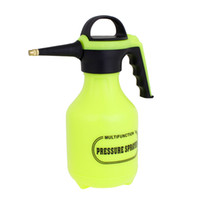 Cheap Green Black Hard Plastic Trigger Spray Bottle Water Sprayer 2L