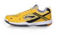 Wholesale NEW li ning badminton shoes unisex tennis shoes for women men anti slip breathable badminton sports shoes