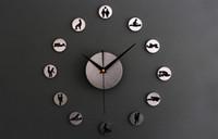 Wholesale New Arrival Atacadista De Relogio The Clock Of Sex Funny Wall Clock Creative Home Decoration Lover Gift Reading Room Decor
