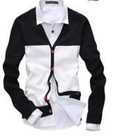uyuk - Uyuk The Trend All Match Sweater Outerwear Fashion Patchwork Thin Male Cardigan Size M XXL