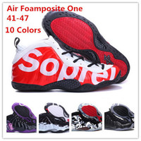 Cheap Wholesale-Free Shipping 2014 New Famous Penny Hardaway men's air foamposite one Basketball Shoes Top Quality Athletic Sport,Size 41-47