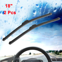 Wholesale Pair Inch Long Rubber Bracketless Windscreen Wiper Blade for Car Vehicle