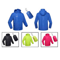 clothing sport coats - Windproof Spring Autumn Men Women Sports Jersey Running Cycling Bicycle Waterproof Sleeve Coat Jacket Clothing Hooded Casual H12661
