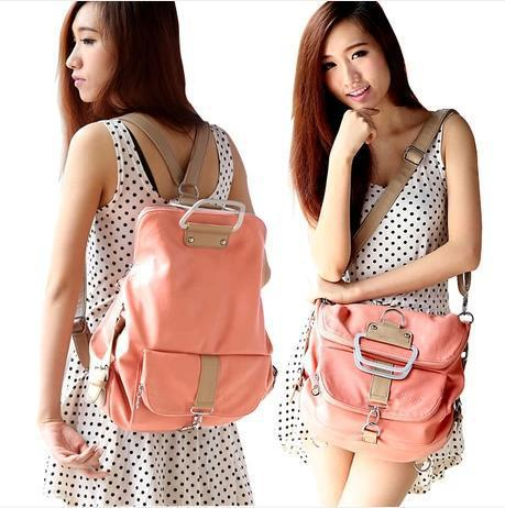Wholesale 2015 Famous Brand Women Leather Backpacks For Girls ...