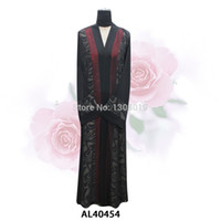 Wholesale Kaftan Dubai Abaya maxi dress Polyester Spandex Islamic Clothing Muslim Dresses for women Long sleeve DHL OR Gift scarf