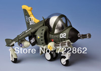 Wholesale Metal Slug X Aircraft Model Assembly Suite Scale SLUG FLYER V STOL Aircraft Type F V Action Figure New
