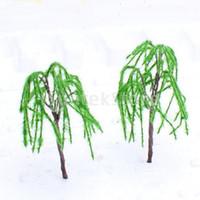 Wholesale Model Weeping Willow Tree Train Set Scenery Landscape O S HO OO TT