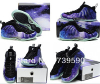 Cheap Wholesale-Free Shipping Men Athletic Shoes New Air Foamposite One Fighter Jet Men Penny Hardaway Basketball Shoes 12 Colors Size 41-46