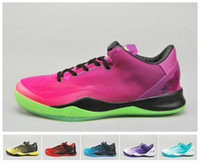 Wholesale Hot New KB8 SYSTEM MC Mambacurial FB Basketball Shoe Men Athletic Shoes Cheap Brand Name Shoe