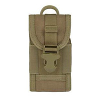 Wholesale Military New Mobile Phone Bag Pouch Carry Cover Case Holster Velcro Closed Dupont Accessories Package