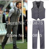 Mens Two Piece Casual Suits Dress Yy