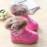 red wing boots - winter child snow boots boys girls baby boots baby shoes wings medium leg boots new