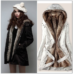 Discount Ladies White Fur Lined Coats | 2017 Ladies Fur Lined
