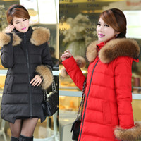 Wholesale NEW Fashion winter maternity clothing hooded thick maternity down jacket for pregnant women Imitation fur maternity coat