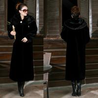 Wholesale The Winter imitation fur coat mink cashmere mink fur imitation mink Clubman warm coat with cap Y1P0