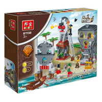 Wholesale Fashion Educational D Puzzle Toys Pirate Island Castle Game for Kids and Adults Puzzle