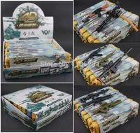 hard machine - d Gun model Assembled hard case set model ak47 rifle M95 machine gun MG42 M16 rifle children toy