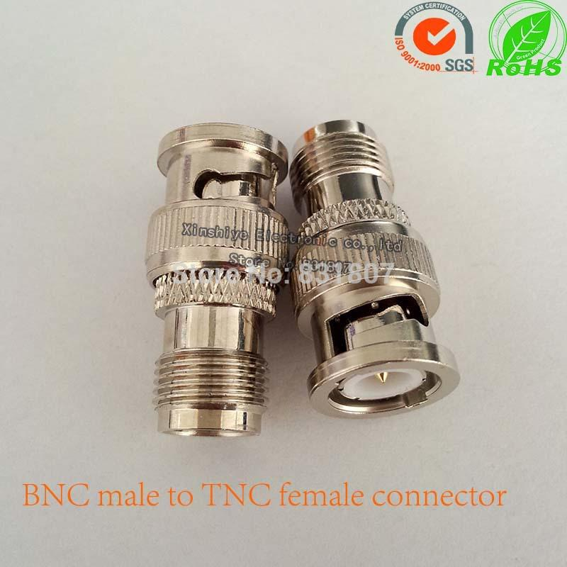 RF Coaxial Coax Connector BNC Male to TNC Female Adapter TNC to ...