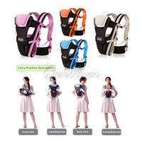 Wholesale 2014 New arrival Multifunctional colors Breathable Ergonomic Baby Carrier Kid Pouch Front Back Infant Backpack baby suspenders BDD