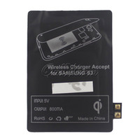 Wholesale High Quality Qi Wireless Charging Charger Receiver Card for Samsung Galaxy S3 Note2 note3 Cell Phones jsk