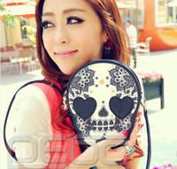 Wholesale Woman Cute Skull Head Shoulder Crossbody Bag Mini Personalized Messenger Handbag