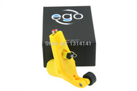 Wholesale Electric Newest arrival EGO Rotary Tattoo Machine Yellow Color Pro Tattoo Motor Gun Lightweight for tattoo