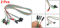 Wholesale 2 Inch Long Power Button Switch Cable for PC Switch Reset Computer