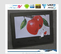 Wholesale 2014 year the best inch WiFi HDMI HD Smart Waterproof Android Mirror TV