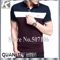 Cheap Wholesale-Hot sale polo shirt, Classic style top quality man Polo shirt, SHORT SLEEVE POLO SHIRT 3 colors M-XXL in stock