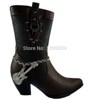 Wholesale FASHION JEWELRY RHINESTONES COWGIRL BLING BOOT CHAIN ANKLET CRYSTAL GUITAR WESTERN SHOES CHARM
