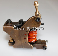 Wholesale New Special Adjustable Desgin Body Handmade Tattoo Machines For Liner Cast Copper Frame Wrap Coils Brand Tattoo Gun Supply