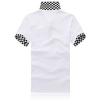 Cheap Wholesale-Camisa Polo Brand New Men Polo Shirt Casual Short Sleeve Famous Brand Louis Cotton Shirts Good Quality Size M - XXL