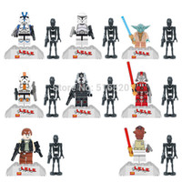 Wholesale Star Wars Minifigures LELE Figures Building Blocks Sets Model Toys Bricks Classic Toys For Children