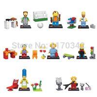 Wholesale The Simpsons Minifigures Building Blocks Sets Model Figures Classic Toys Bricks