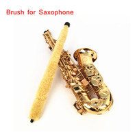 Wholesale Cleaning Brush Cleaner Pad Saver for Alto Sax Saxophone Soft Durable New Arrivel I510