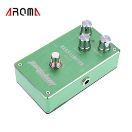 Wholesale High Quality Electric Guitar Bass Effect Pedal Aluminum Alloy Housing Ture Bypass Design Bass Limiter New Arrivel I499