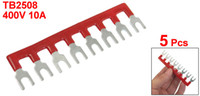 barrier strip - 400V A Postions Pre Insulated Terminal Barrier Strip Red