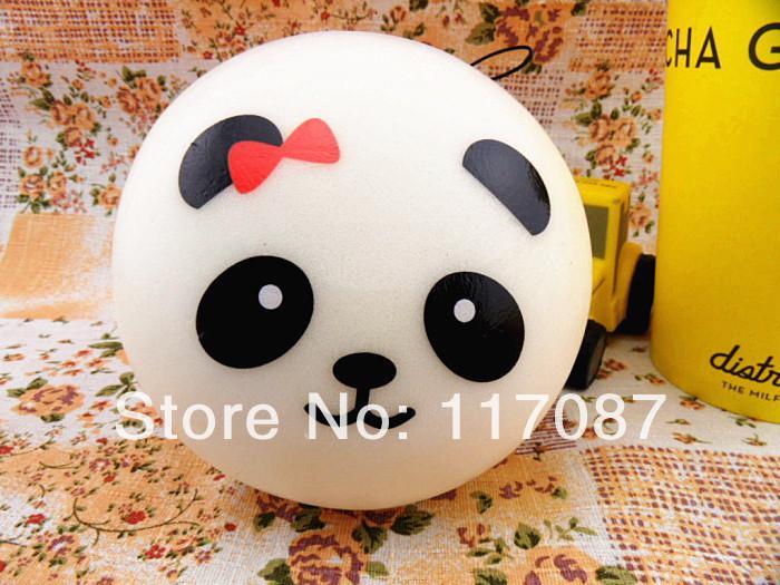 Online Cheap Wholesale 10cm Jumbo Panda Squishy Squishies Buns Cell Phone Strap Charm Wholesales ...