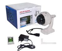 Wholesale Wanscam Outdoor Wifi Wireless PTZ IP Camera Network P2P IR cut waterproof Mini speed Dome mm times Optical Zoom