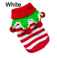 christmas sweaters for cats - Cute Pet Christmas Sweater Stripe Design